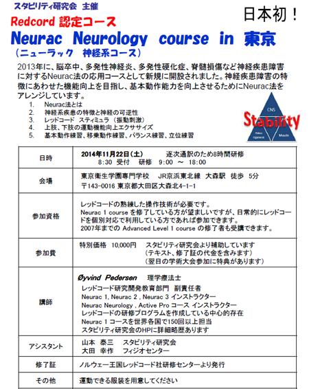 スタビリティ研究会学術大会in東京